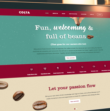 Costa <br/> Careers Site